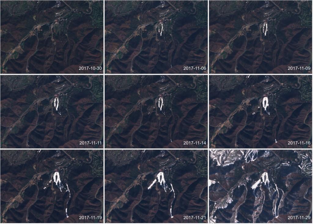 neige Pyeongchang